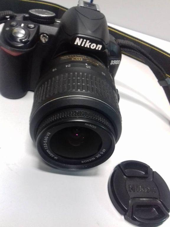 Nikon d3100 nikon nikkor af-s 18-55mm f/3.5-5.6g vr dx