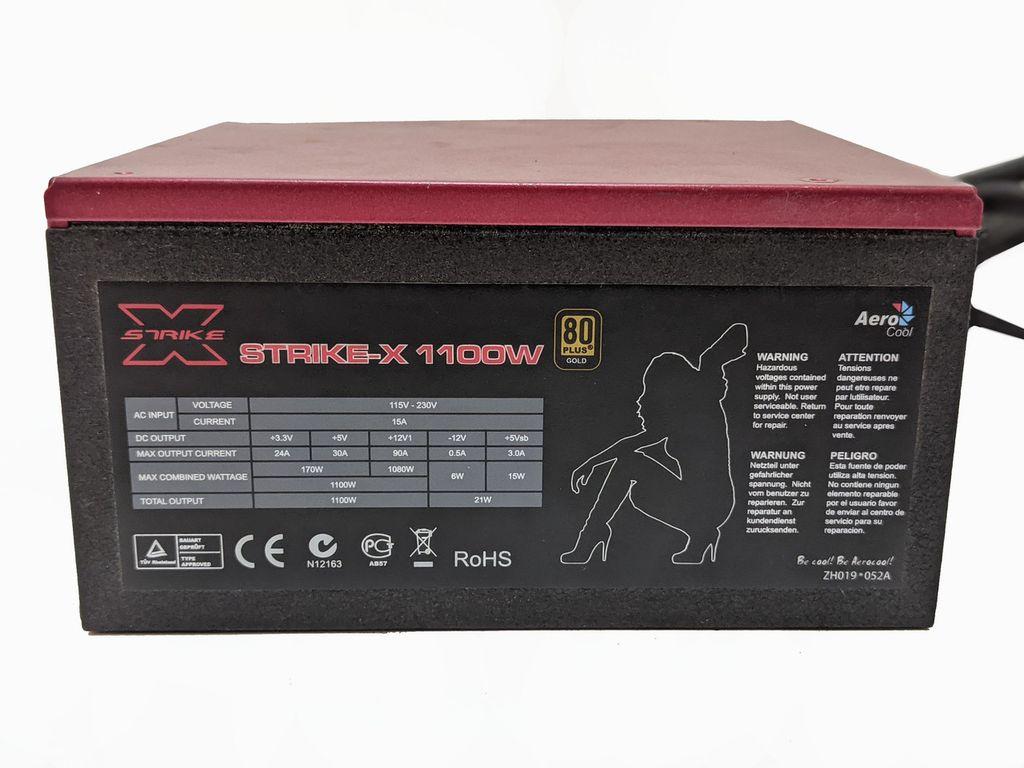 Aerocool Strike 1100W