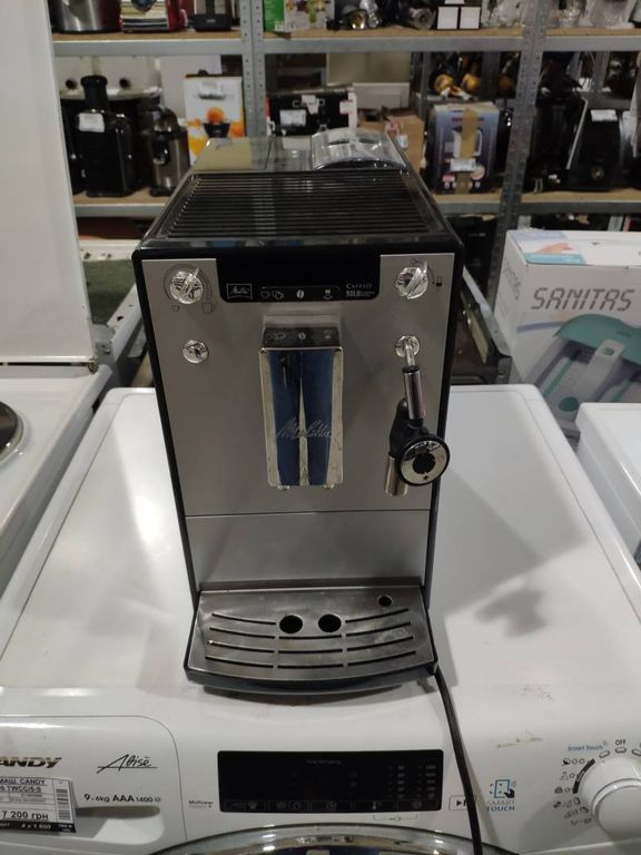 Melitta CAFFEO SOLO Silver (E950-103)