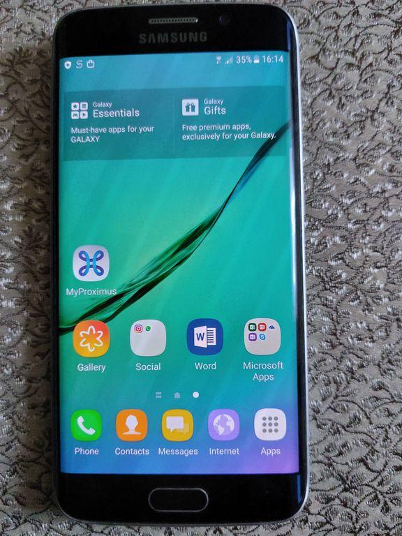 Samsung G925F Galaxy S6 Edge 32GB (Black Sapphire)