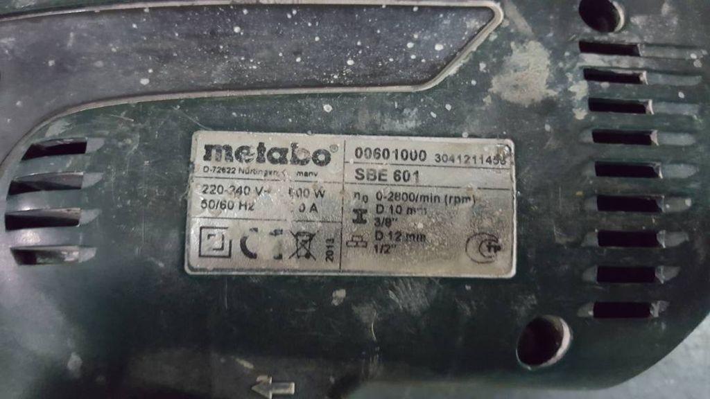 Metabo SBE 601