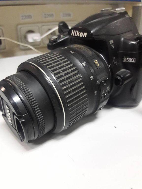 Nikon d5000 nikon nikkor af-s 18-55mm f/3.5-5.6g vr dx