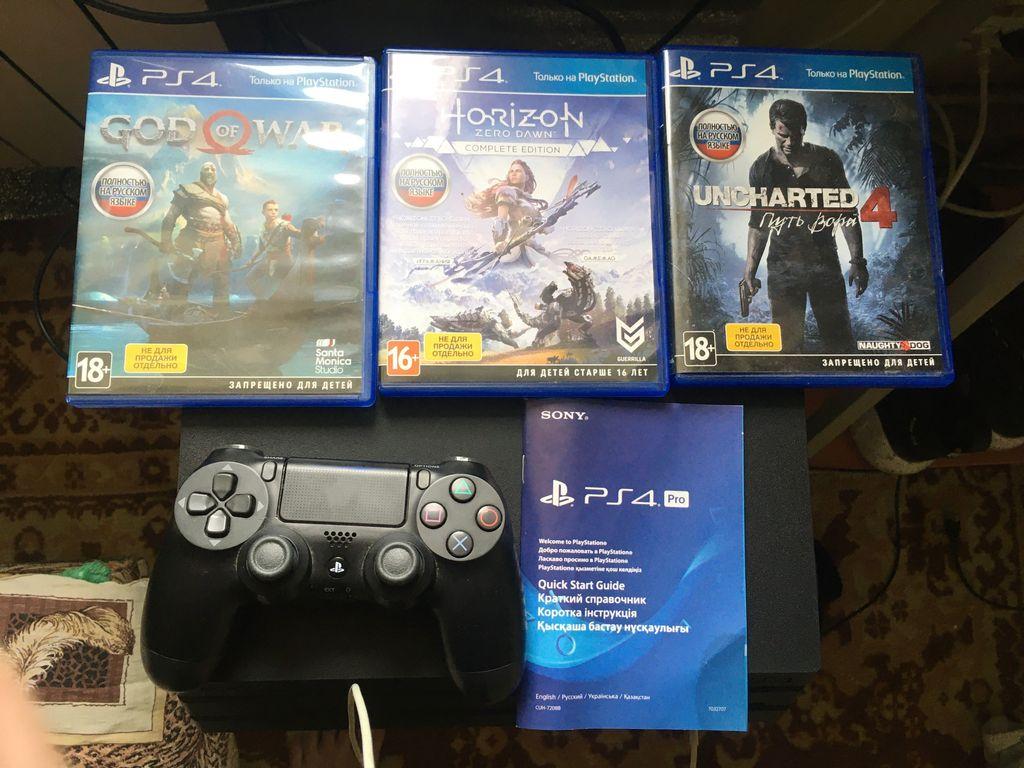 Sony PlayStation 4 Pro (PS4 Pro) 1TB Black (9773412)