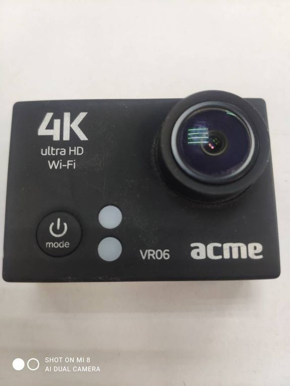 Acme vr06 4k action camera with wi-fi