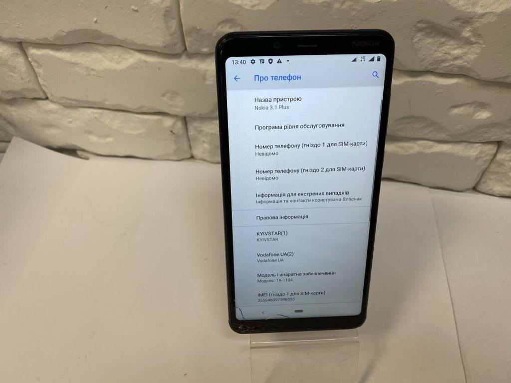 Nokia _3.1 plus ta-1104 3/32gb